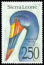 Cl: Saddle-billed Stork (Ephippiorhynchus senegalensis)(Repeat for this country)  SG 1834 (1992)