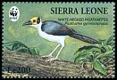 Cl: White-necked Rockfowl (Picathartes gymnocephalus)(Repeat for this country)  SG 2153 (1994)