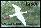 Cl: African Spoonbill (Platalea alba)(Repeat for this country)  SG 3099 (1999)