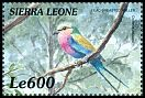 Cl: Lilac-breasted Roller (Coracias caudata)(Out of range)  SG 3113 (1999)