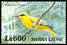 Cl: African Golden Oriole (Oriolus auratus)(Repeat for this country)  SG 3117 (1999)