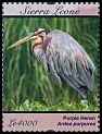 Cl: Purple Heron (Ardea purpurea)(Repeat for this country)  SG 4790d (2011)