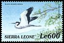 Cl: Black-headed Heron (Ardea melanocephala) SG 3095 (1999)