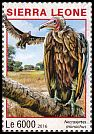 Cl: Hooded Vulture (Necrosyrtes monachus)(I do not have this stamp)  new (2016)