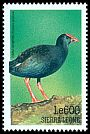 Cl: Purple Swamphen (Porphyrio porphyrio) SG 3082 (1999)