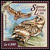 Cl: Pel's Fishing-Owl (Scotopelia peli)(I do not have this stamp)  new (2015)
