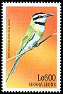 Cl: White-throated Bee-eater (Merops albicollis) SG 3091 (1999)
