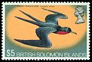 Cl: Great Frigatebird (Fregata minor) SG 233a (1972) 1400