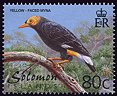 Cl: Long-tailed Myna (Mino kreffti) SG 979 (2001) 50 [1/6]