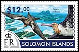 Cl: Christmas Island Frigatebird (Fregata andrewsi)(I do not have this stamp) (not catalogued)  (2015)