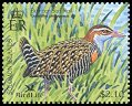 Cl: Buff-banded Rail (Gallirallus philippensis) SG 1080a2 (2004)