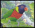 Cl: Rainbow Lorikeet (Trichoglossus haematodus)(Repeat for this country)  SG 1150a5 (2005)  [5/6]