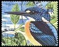 Cl: Variable Kingfisher (Ceyx lepidus)(Repeat for this country)  SG 1080c6 (2004)  [3/28]
