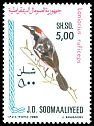 Cl: Red-naped Bushshrike (Laniarius ruficeps) SG 660 (1980) 140