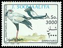 Cl: Secretarybird (Sagittarius serpentarius)(not catalogued)  (1993)