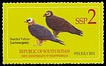 Cl: Lammergeier (Gypaetus barbatus)(I do not have this stamp)  new (2013)