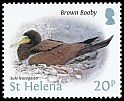 Cl: Brown Booby (Sula leucogaster)(Repeat for this country)  SG 1238 (2015)