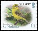 Cl: Yellow Canary (Serinus flaviventris)(Repeat for this country)  SG 1244 (2015)