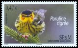 Cl: Cape May Warbler (Dendroica tigrina) <<Paruline tigree>>  SG 1121 (2011)
