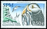 Cl: Atlantic Puffin (Fratercula arctica) SG 915 (2002)