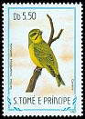 Cl: Yellow-fronted Canary (Serinus mozambicus santhome) <<Can&aacute;rio>> (not catalogued)  (1983)