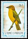 Cl: Principe Golden-Weaver (Ploceus princeps) <<Pad&eacute;-campo>> (not catalogued)  (1983)