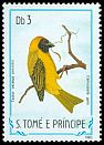 Cl: Vitelline Masked-Weaver (Ploceus vitellinus peixotoi) <<Camussela galo>> (not catalogued)  (1983)