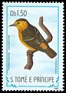 Cl: Sao Tome Weaver (Ploceus sanctithomae) <<Tchintchinxolo>> (not catalogued)  (1983)