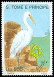 Cl: Great Egret (Ardea alba) <<Gar&ccedil;a>> (not catalogued)  (1993)