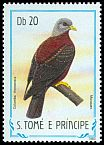 Cl: Maroon Pigeon (Columba thomensis) <<Munquen>> (not catalogued)  (1983)