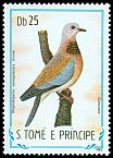 Cl: Laughing Dove (Streptopelia senegalensis) <<Curucuco>> (not catalogued)  (1983)