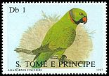 Cl: Rose-ringed Parakeet (Psittacula krameri)(Out of range) (not catalogued)  (1987)
