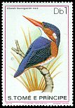 Cl: White-bellied Kingfisher (Alcedo leucogaster nais)(not catalogued)  (1979)