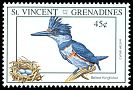 Cl: Belted Kingfisher (Ceryle alcyon) SG 2184 (1993) 45