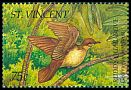 Cl: Ruddy Quail-Dove (Geotrygon montana)(Repeat for this country)  SG 2889 (1995)