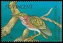 Cl: Green Heron (Butorides virescens)(Repeat for this country)  SG 2895 (1995)