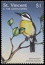 Cl: Bananaquit (Coereba flaveola)(Repeat for this country)  SG 3643 (1997)
