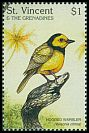 Cl: Hooded Warbler (Wilsonia citrina) SG 3646 (1997)