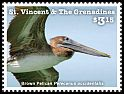 Cl: Brown Pelican (Pelecanus occidentalis)(Repeat for this country) (I do not have this stamp)  new (2015)