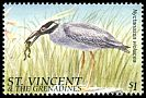 Cl: Yellow-crowned Night-Heron (Nyctanassa violacea) SG 3353 (1996)