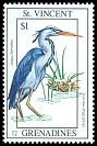 Cl: Great Blue Heron (Ardea herodias)(Repeat for this country)  SG 2186 (1993) 75