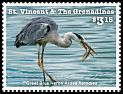 Cl: Great Blue Heron (Ardea herodias)(Repeat for this country) (I do not have this stamp)  new (2015)