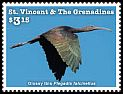Cl: Glossy Ibis (Plegadis falcinellus)(I do not have this stamp)  new (2015)
