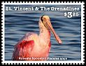 Cl: Roseate Spoonbill (Platalea ajaja)(Repeat for this country) (I do not have this stamp)  new (2016)