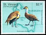 Cl: West Indian Whistling-Duck (Dendrocygna arborea) SG 3975 (1998) 0