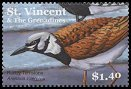 Cl: Ruddy Turnstone (Arenaria interpres)(Repeat for this country)  SG 5083 (2001)