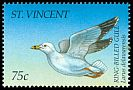 Cl: Ring-billed Gull (Larus delawarensis)(Repeat for this country)  SG 2888 (1995)