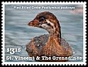 Cl: Pied-billed Grebe (Podilymbus podiceps)(Repeat for this country) (I do not have this stamp)  new (2015)