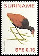 Cl: Wattled Jacana (Jacana jacana)(Repeat for this country)  SG 2128 (2005) 30