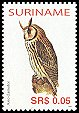 Cl: Striped Owl (Pseudoscops clamator) SG 2126 (2005) 25